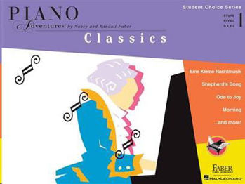 Image de STUDENT CHOICE SERIES CLASSICS Level 1 Piano