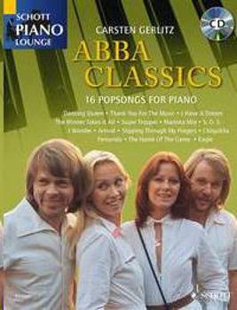 Picture of ABBA CLASSICS 16 POPSONGS PIANO +CDgratuit Piano