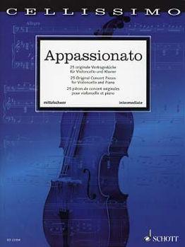 Image de APPASSIONATO 25 ORIGINAL CONCERT PIECES Violoncelle