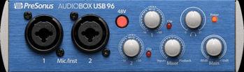 Picture of Interface Audio PreSonus Audioboxusb96 2 Entrées
