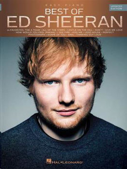 Picture of ED SHEERAN BEST OF (UPDATED EDITION) Piano