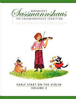 Picture of EARLY START ON THE VIOLIN V2 E. SASSMANNSHAUS Violon