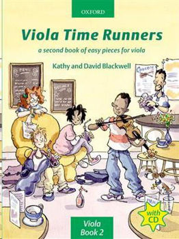 Picture of BLACKWELL VIOLA TIME RUNNERS 2 +CDgratuit Violon Alto