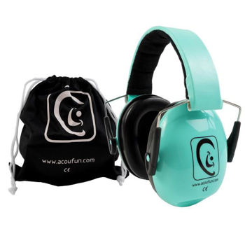 Picture of CASQUE BATTEUR ACOUFUN JUNIOR VERT (de 2 à 12 ans)