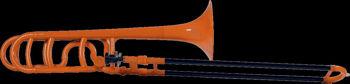 Image de Trombone Ténor Plastique SiB & FA COOLWIND Orange