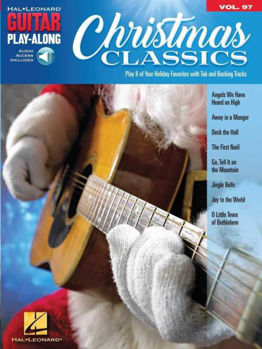 Picture of GUITAR PLAY ALONG V97 CHRISTMAS CLASSICS Guitare