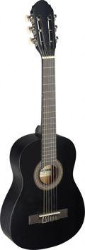 Image de Guitare Classique 1/4 tilleul Noir