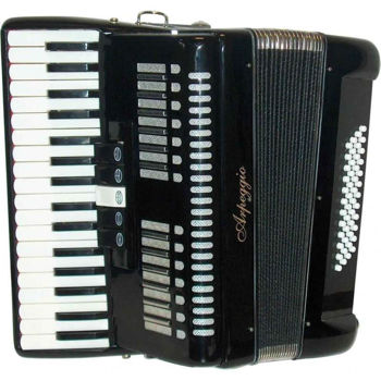 Picture of ACCORDEON CHROMATIQUE ARPEGGIO 34 Touches Piano 48 Basses Noir