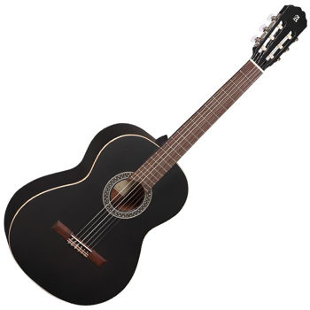 Picture of Guitare Classique 4/4 ALHAMBRA 1C Cèdre Massif Black Satin