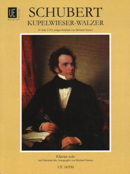 Picture of SCHUBERT - STRAUSS KUPELWIESER VALS