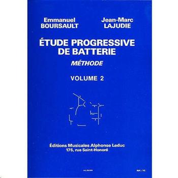 Image de BOURSAULT Etudes Progressives Batterie VOL2