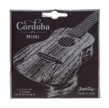 Image de JEU CORDES Guitare Classique AQUILA a boule pour CORDOBA MINI