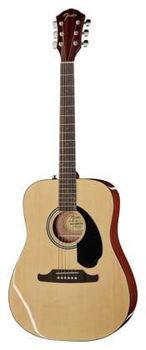 Image de Guitare Folk Acoustique FENDER FA Serie FA-125 Naturelle