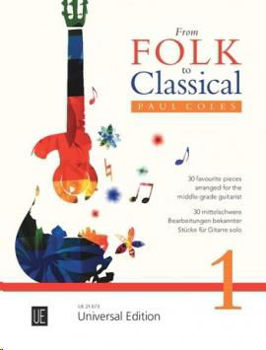 Image de COLES PAUL FROM FOLK TO CLASSICAL V1 Guitare