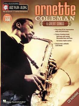 Image de Jazz Play Along V166 ORNETTE COLEMAN TS INSTR. BK+CD