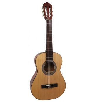 Image de Guitare Classique 1/2 CORT AC50 Open Pore + Housse