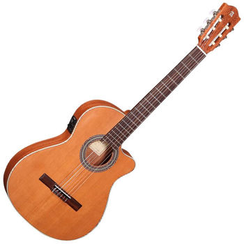 Picture of Guitare Classique Electro Acoustique ALHAMBRA Z nature Slim