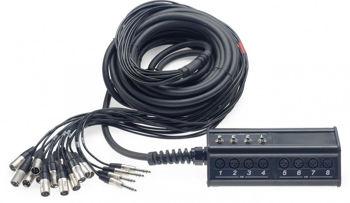 Image de Cable Multipaire 16xlrfem/4jkfem 15m Deluxe