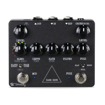 Picture of Pedale effet Multiple KEELEY DARK SIDE WORKSTATION fuzz/phaser/uvibe/rotary/flanger/delay