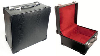 Picture of MALETTE ACCORDEON HOHNER 80 Basses Noire 42 x 39 x 22,5 cm