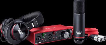 Picture of Interface Audio Numerique FOCUSRITE SCARLETT3 PACK 2I2 USB-C +MICRO + CASQUE