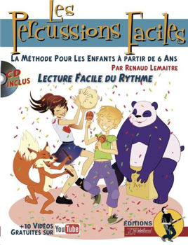 Image de LES PERCUSSIONS FACILES à partir de 6 ans +CDgratuit