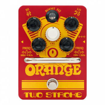 Image de Pedale Effet Boost ORANGE Two Stroke Guitare/Basse Equalizeur