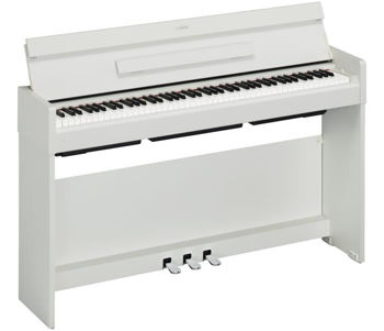 Picture of Piano Numerique Meuble YAMAHA YDPS34 Blanc Mat