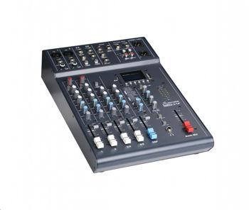 Picture of Table Mixage 4 Canaux STUDIOMASTER 6 entrées lecteur USB/SD/BLUETOOTH