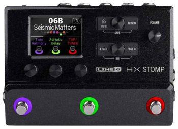 Picture of Pedalier Multi Effets LINE6 HX STOMP Processeur / Expandeur / Interface
