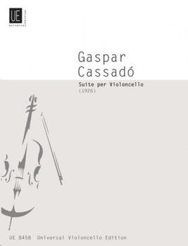 Image de CASSADO GASPAR SUITE Violoncelle