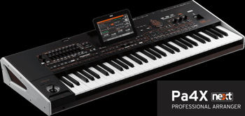 Picture of Clavier Arrangeur KORG PA4X-61
