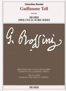 Picture of ROSSINI GUILLAUME TELL Vocal Score et Piano Reduction
