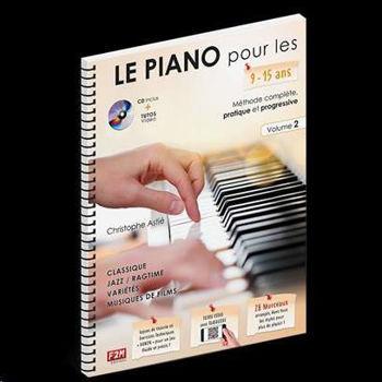 Image de LE PIANO POUR LES 9/15 ANS VOL2 C.ASTIE +CDgratuit et BONUS internet