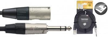 Picture of Cable Ligne JK male Mono XLR male 10m