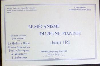 Image de IRI LE MECANISME DU JEUNE PIANISTE