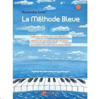 Image de SOREL LA METHODE BLEUE +2CDgratuits Piano