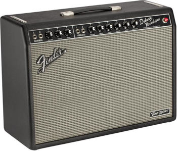 Picture of Amplificateur Guitare Electrique FENDER TONEMASTER Deluxe Reverb 100Watts +Footswitch