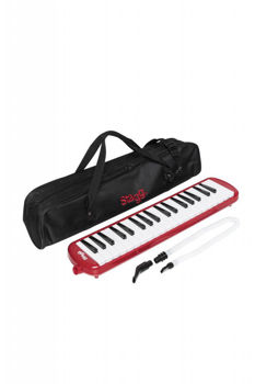 Image de MELODICA PIANO 37 TOUCHES STAGG +Housse Rouge