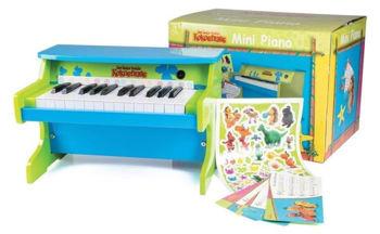 Picture of PIANO Enfant Bois KOKOSNUSS Mini 25 Touches & Stickers