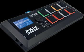 Image de Controleur Echantillons AKAI MPX8 CARTE SD USB/MIDI