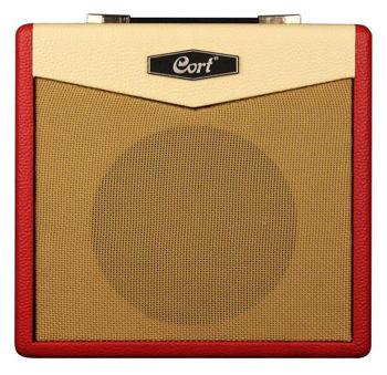 Picture of Amplificateur Guitare Electrique CORT CM15 Rouge 15Watts +Reverb