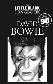 Picture of BOWIE DAVID LITTLE BLACK SONGBOOK Paroles et Accords