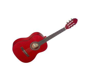 Image de Guitare Classique 3/4 STAGG TILLEUL Rouge