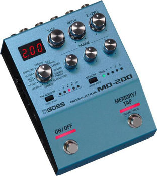 Picture of Pedale Effet MODULATION BOSS Série 200 (Chorus—CE-1 Chorus—Flanger—Phaser—Vintage PhaserClassic Vibe—Vibrato—Tremolo—Rotary—Auto Wah—Slicer—Overtone—)