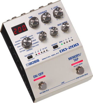 Picture of Pedale Effet DELAY BOSS Serie 200 12 Modes & Looper