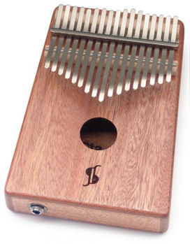 Picture of KALIMBA Electro Professionnel 17 Lames STAGG Acajou