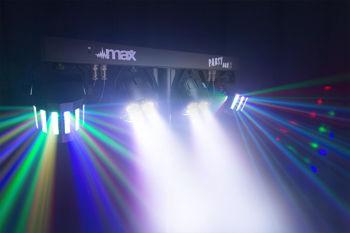 Picture of Set 4 Effets Lumineux LEDS MAXLight 2 x PARS 3en1 RGBW & 2 DERBYS