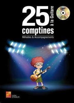Image de 25 COMPTINES A LA GUITARE Mélodies et Accompagnements + CDgratuit