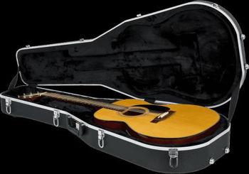Image de Etui Guitare Folk ABS Rigide